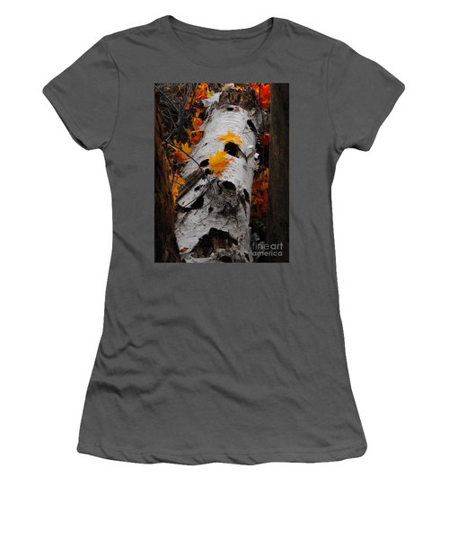 Laying Birch Women's T-Shirt (Athletic Fit)