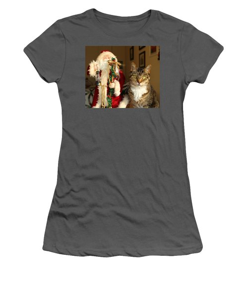 Lb And His Friend Women's T-Shirt (Athletic Fit)