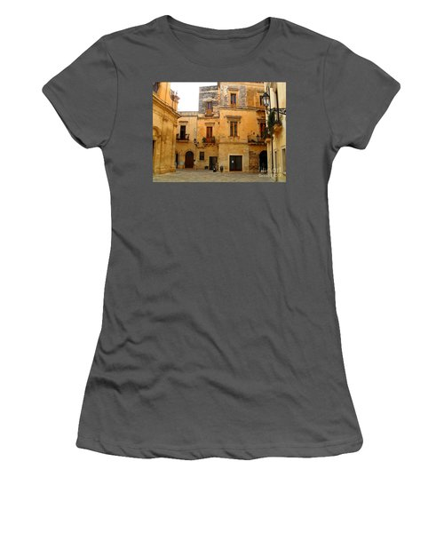 Lecce Stone Women's T-Shirt (Athletic Fit)