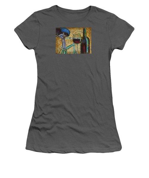 L'eroica Bianchi Chianti Women's T-Shirt (Junior Cut) by Mark Jones