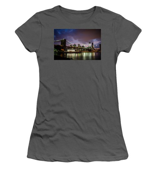 Light Up The Night Women's T-Shirt (Athletic Fit)