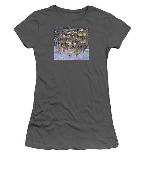 Lily Pad Life Women's T-Shirt (Athletic Fit)