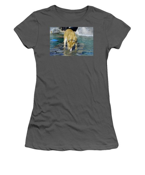 Lion 3 Women's T-Shirt (Athletic Fit)