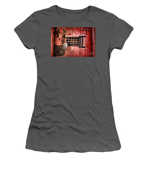 Locked Up Women's T-Shirt (Athletic Fit)