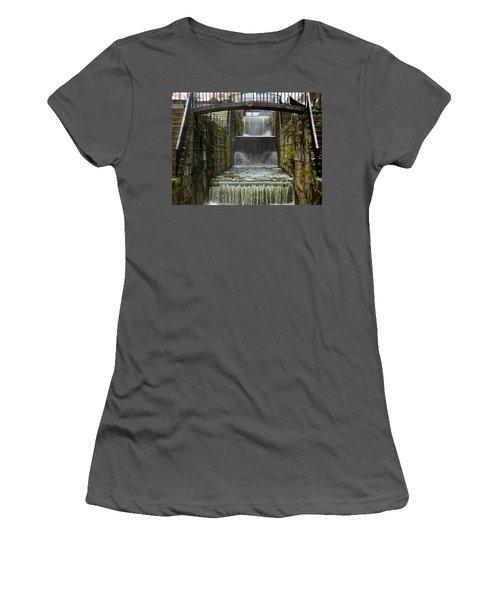 Lockport Falls Women's T-Shirt (Athletic Fit)