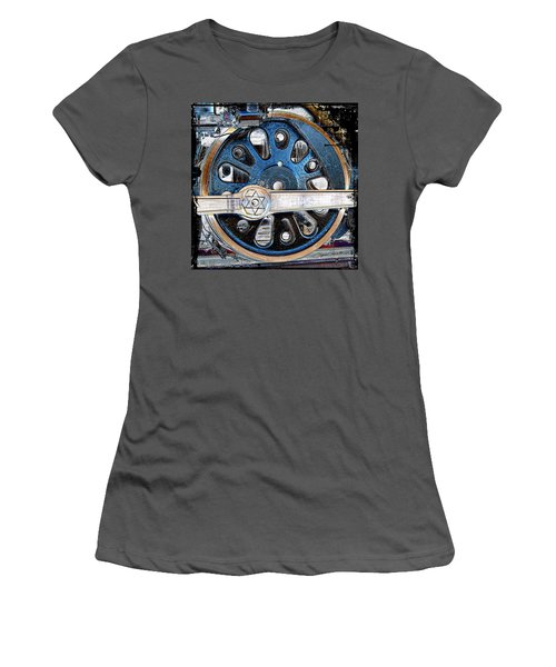 Loco Wheel Women's T-Shirt (Athletic Fit)