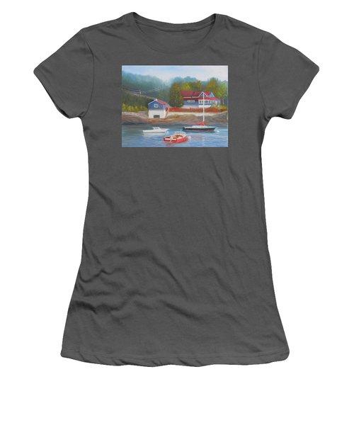 Long Cove Women's T-Shirt (Athletic Fit)