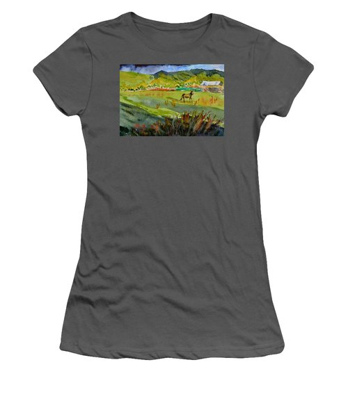 Long Shadow Storm Women's T-Shirt (Athletic Fit)
