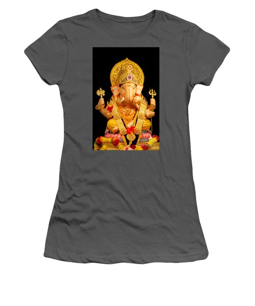 Lord Ganesha Women's T-Shirt (Athletic Fit)