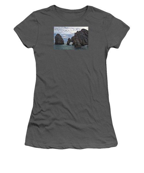 Los Arcos In Cabo San Lucas Women's T-Shirt (Junior Cut) by Loriannah Hespe