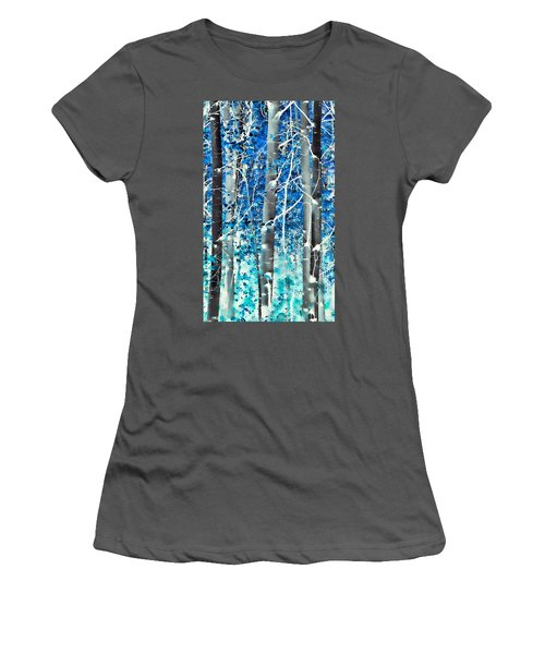 Lost In A Dream Women's T-Shirt (Junior Cut) by Don Schwartz
