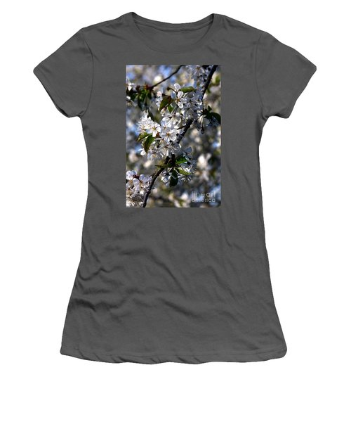 Lots Of Spring Flowers Women's T-Shirt (Athletic Fit)