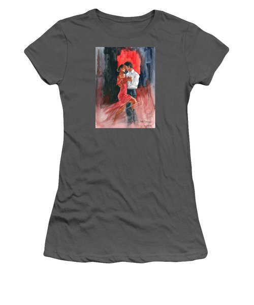 Love And Tango Women's T-Shirt (Junior Cut) by Melly Terpening