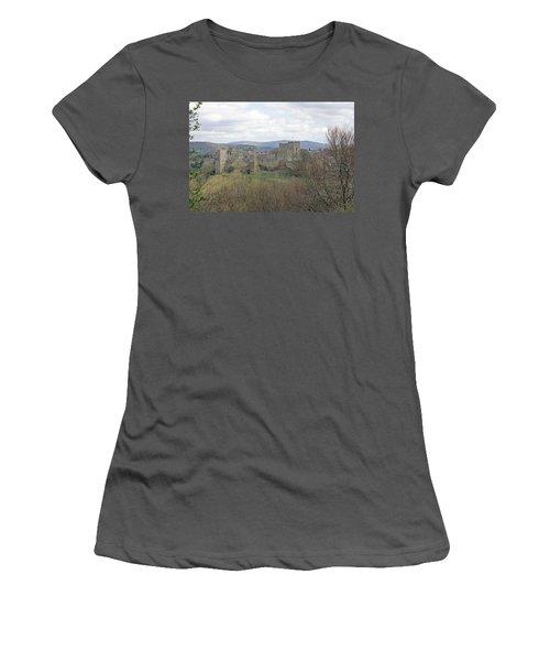 Ludlow Castle Women's T-Shirt (Athletic Fit)