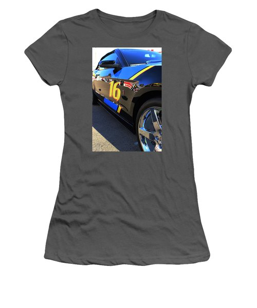 Women's T-Shirt (Junior Cut) featuring the photograph Made For Speed by Natalie Ortiz