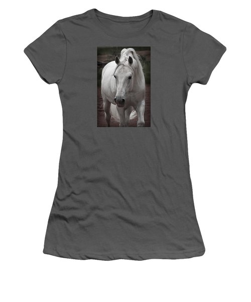 Women's T-Shirt (Junior Cut) featuring the photograph Maestoso II Ambrosia D5881 by Wes and Dotty Weber