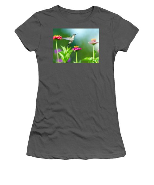 Magic Garden Women's T-Shirt (Athletic Fit)