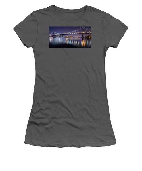 Manhattan Reflections  Women's T-Shirt (Athletic Fit)