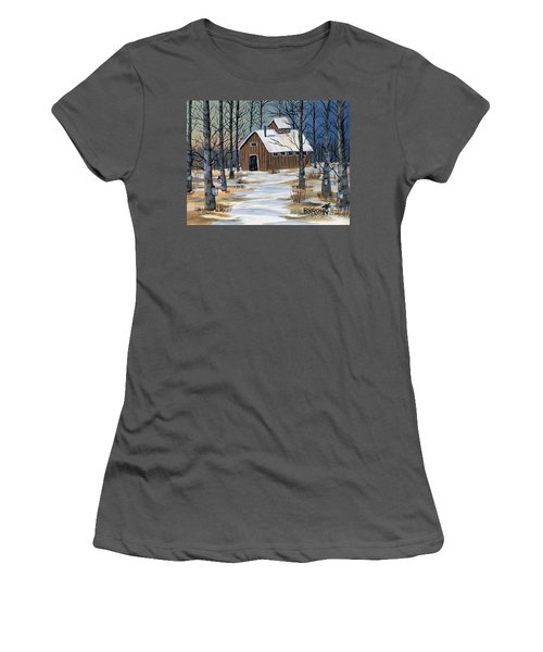 Maple Syrup Shack Women's T-Shirt (Athletic Fit)