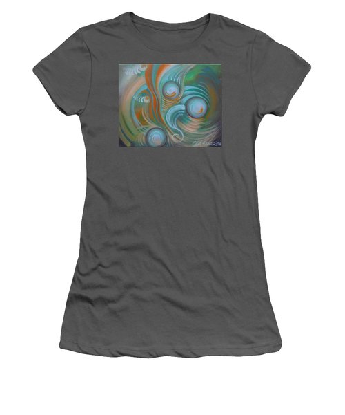 Marble Madness Women's T-Shirt (Athletic Fit)