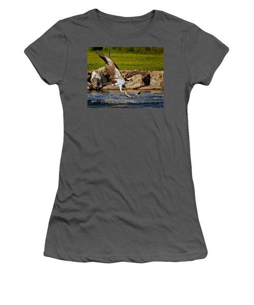 Master Fisherman Women's T-Shirt (Athletic Fit)