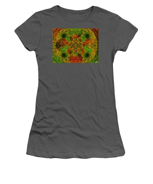 Meditate Women's T-Shirt (Athletic Fit)