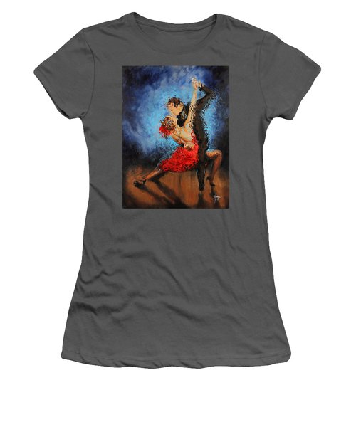 Melting Women's T-Shirt (Athletic Fit)