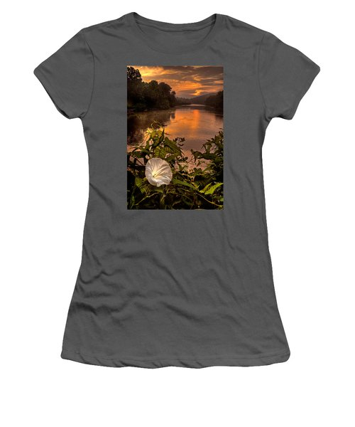 Meramec River At Chouteau Claim Women's T-Shirt (Athletic Fit)