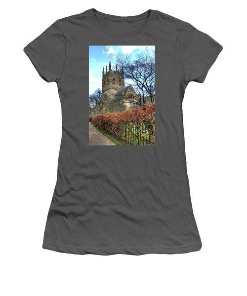 Merton College Chapel Women's T-Shirt (Athletic Fit)