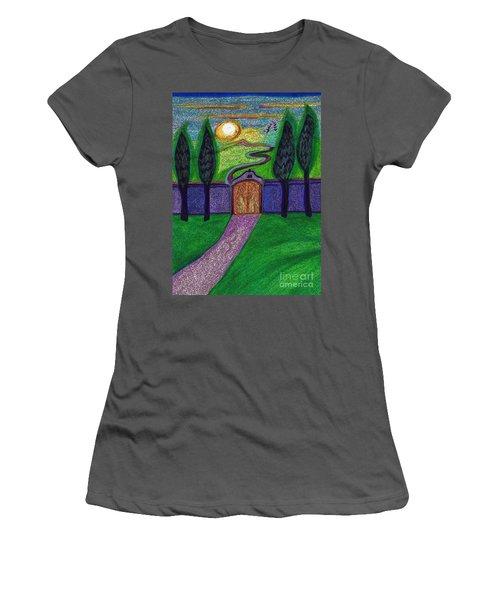 Metaphor Door By Jrr Women's T-Shirt (Athletic Fit)