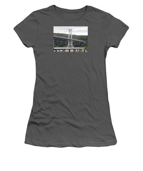 Mid Hudson Bridge Women's T-Shirt (Athletic Fit)