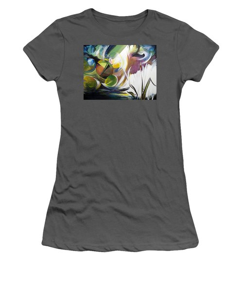Midnight On The Bayou Women's T-Shirt (Athletic Fit)
