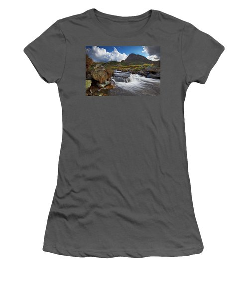 Mighty Tryfan  Women's T-Shirt (Athletic Fit)