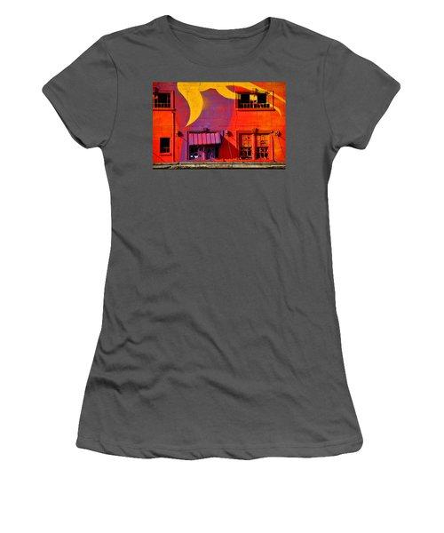 Migrate Detail 1 Women's T-Shirt (Athletic Fit)