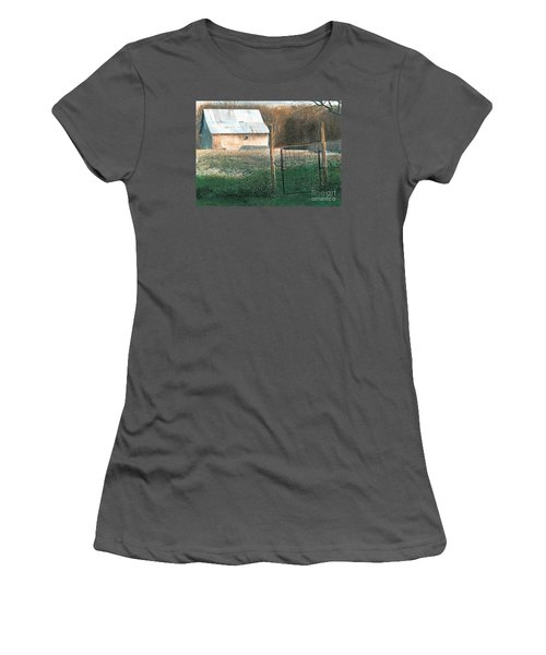 Milking Time Women's T-Shirt (Athletic Fit)