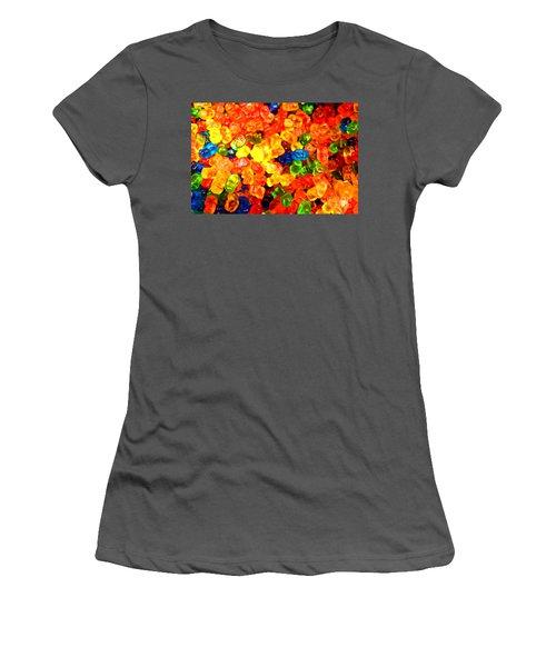 Mini Gummy Bears Women's T-Shirt (Athletic Fit)