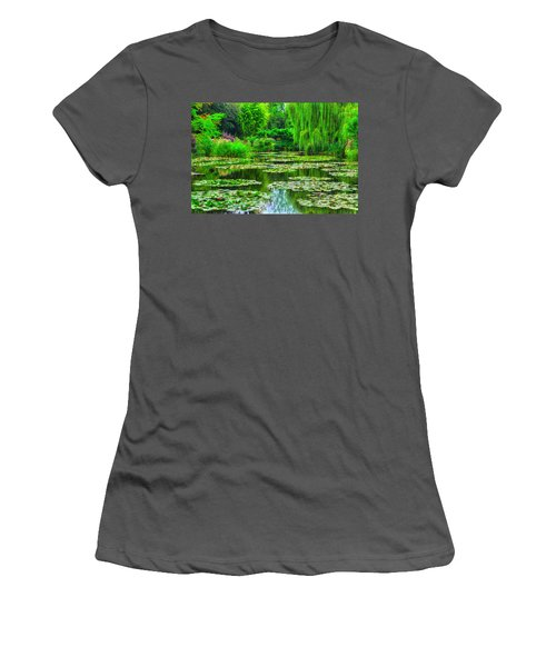 Monet's Lily Pond Women's T-Shirt (Athletic Fit)