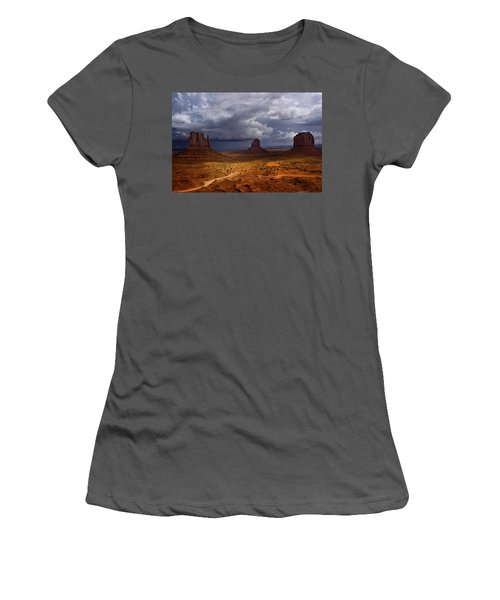 Monuments Of The West Women's T-Shirt (Athletic Fit)