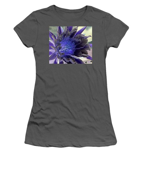 Women's T-Shirt (Junior Cut) featuring the photograph Moody Blues by Antonia Citrino