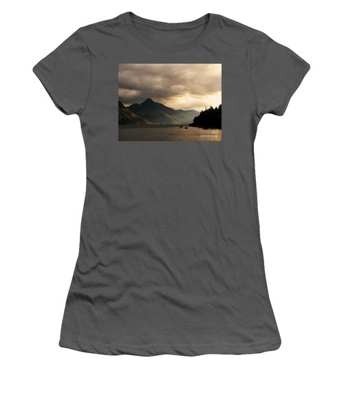 Moody Lake Women's T-Shirt (Athletic Fit)