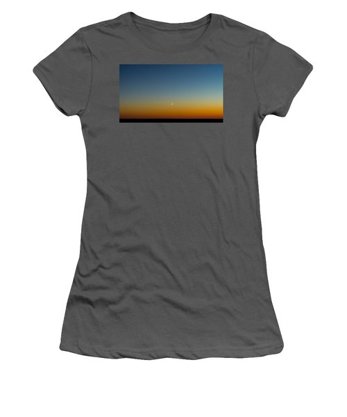 Moon And Venus I Women's T-Shirt (Athletic Fit)