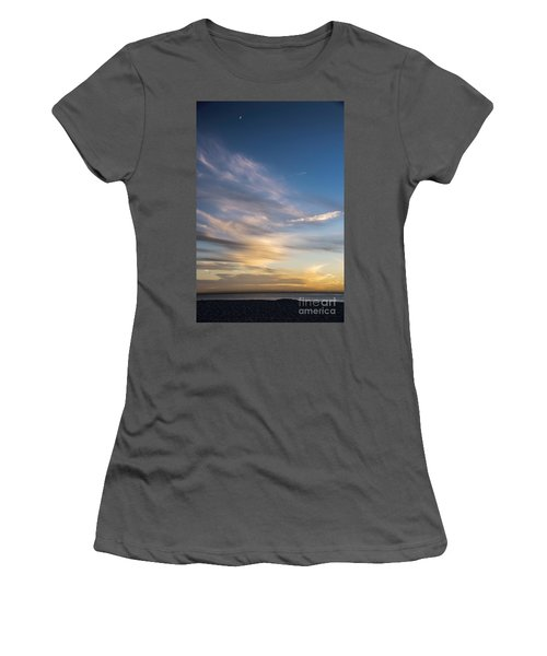 Moon Over Doheny Women's T-Shirt (Athletic Fit)