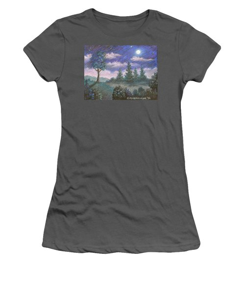 Moonshadow Women's T-Shirt (Athletic Fit)