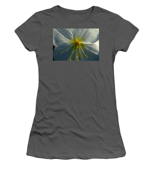 Morning Dew Women's T-Shirt (Junior Cut) by Steven Reed