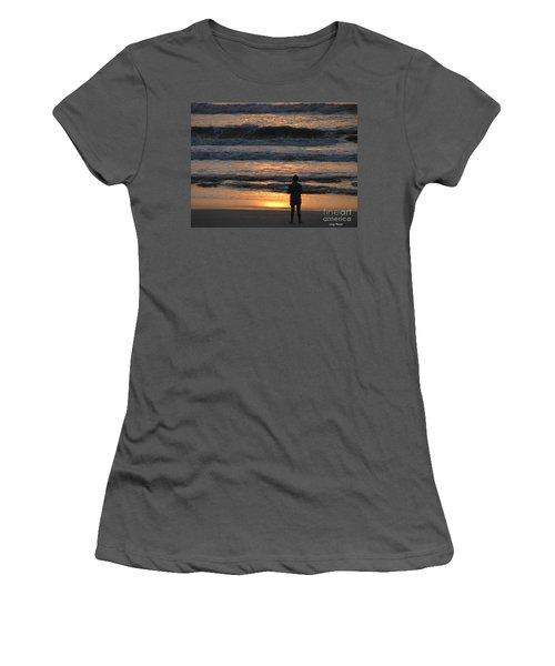 Women's T-Shirt (Junior Cut) featuring the photograph Morning Has Broken by Greg Patzer
