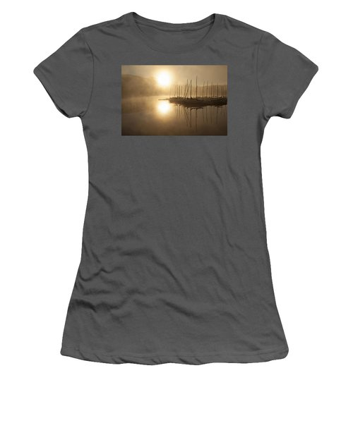 Morning Sun Women's T-Shirt (Athletic Fit)