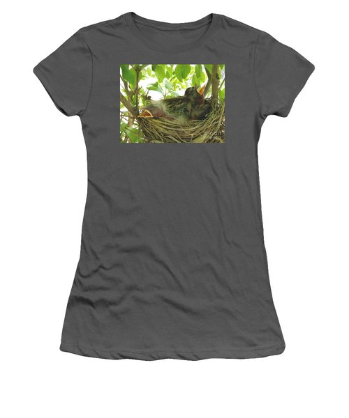 Morning Wakeup Call Women's T-Shirt (Athletic Fit)