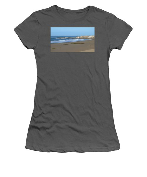 Moroccan Fishing Village Women's T-Shirt (Athletic Fit)