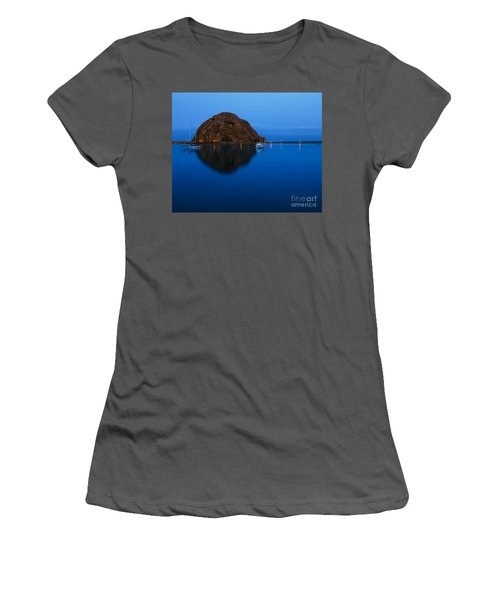 Morro Bay Calm Morning Women's T-Shirt (Athletic Fit)