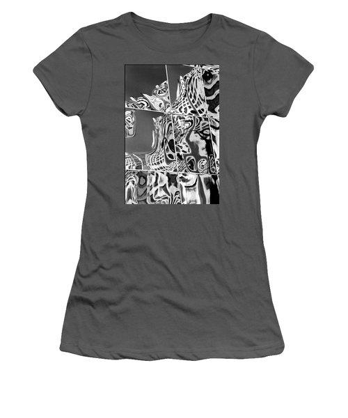 Mosaic Women's T-Shirt (Junior Cut) by Steven Huszar